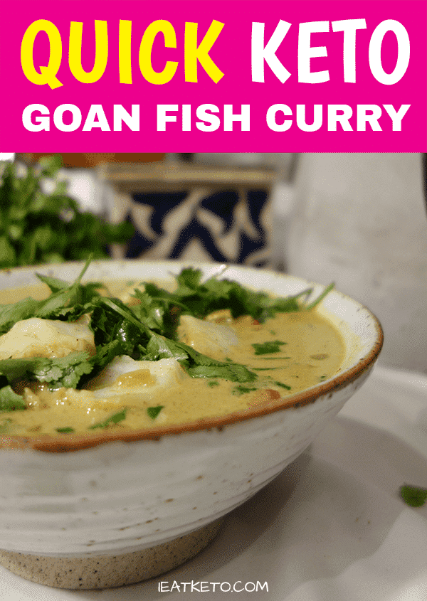 Quick Keto Fish Curry