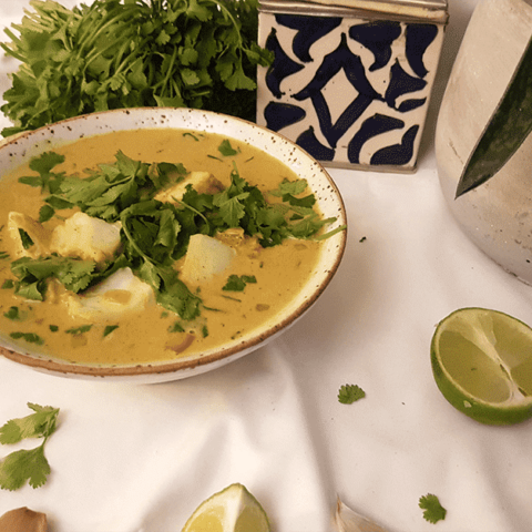 Quick Keto Goan Fish Curry