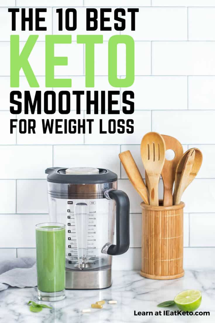 low carb and healthy keto smoothies