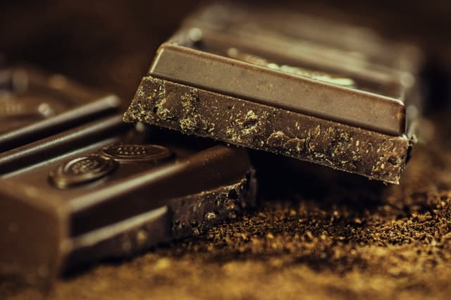 Extra dark chocolate is a great keto snack food