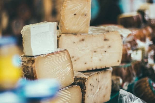 Cheese can be a tasty keto snack on a low carb diet