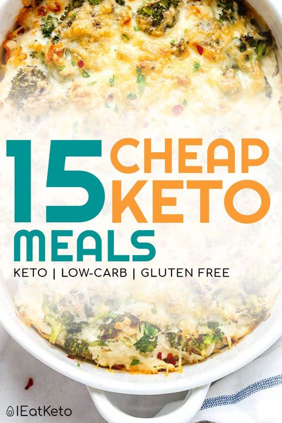 Cheap keto meals - keto on a budget recipes