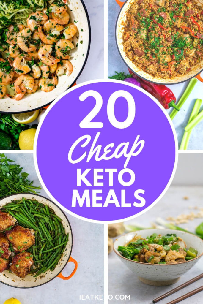 cheap keto meal recipes - inexpensive low carb dishes