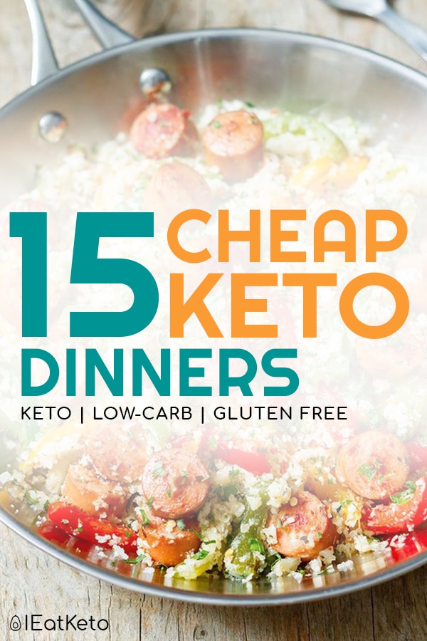 Cheap Keto Meals for low carb eating on a budget