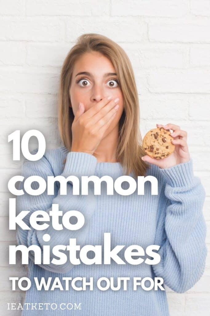 Common keto imstakes