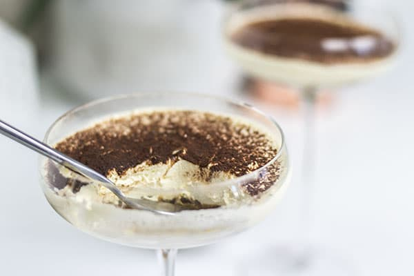 quick easy keto tiramisu - low carb and gluten free