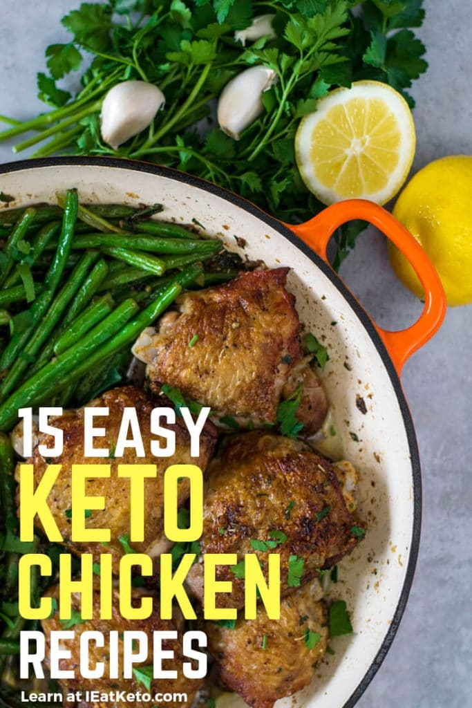Quick and easy keto chicken dinner recipes