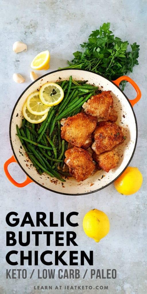 Easy Garlic Butter Keto Chicken