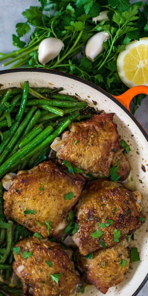 garlic butter chicken keto recipe