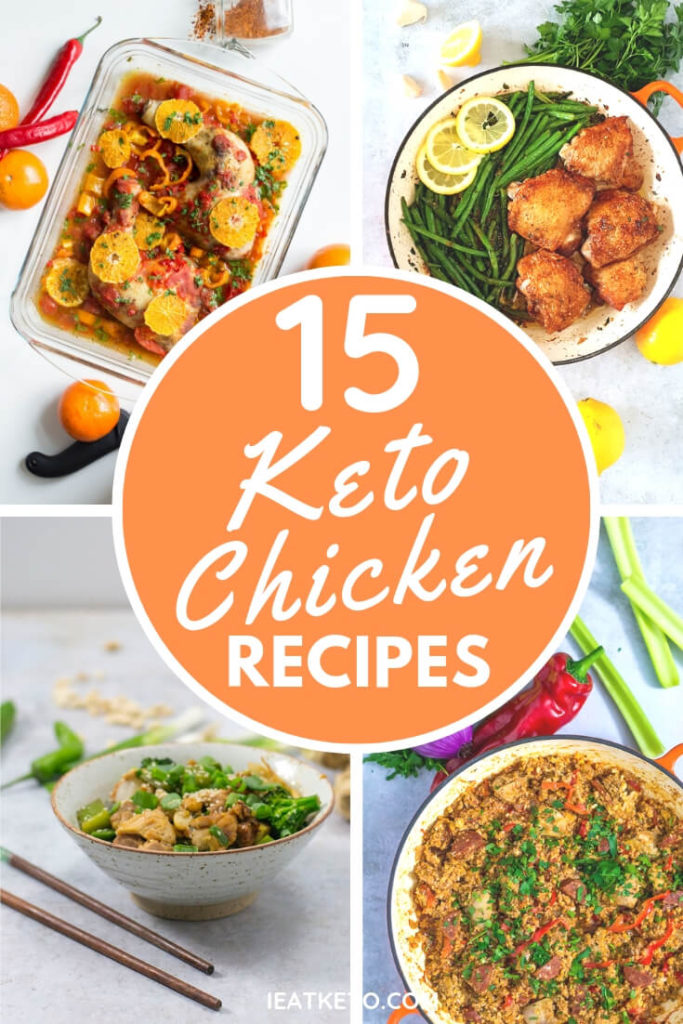quick and easy keto chicken recipes for dinner tonight!