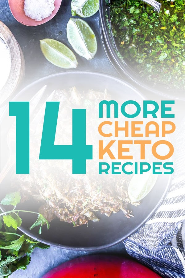 Affordable Keto Recipes - Cheap low carb meals