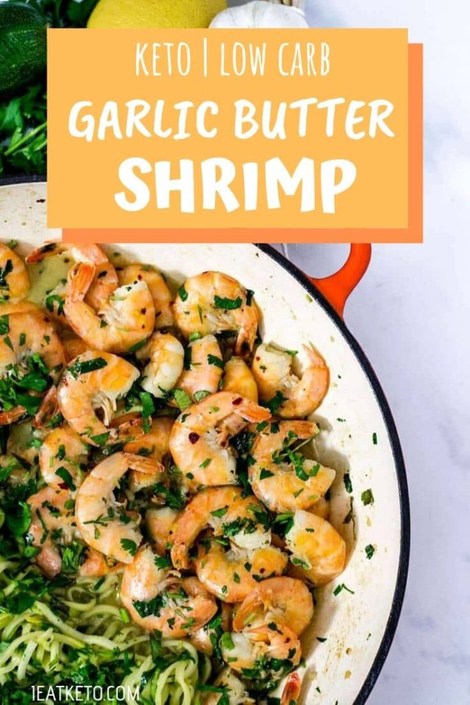 Keto Dinner Recipes - Keto Garlic Butter Shrimp