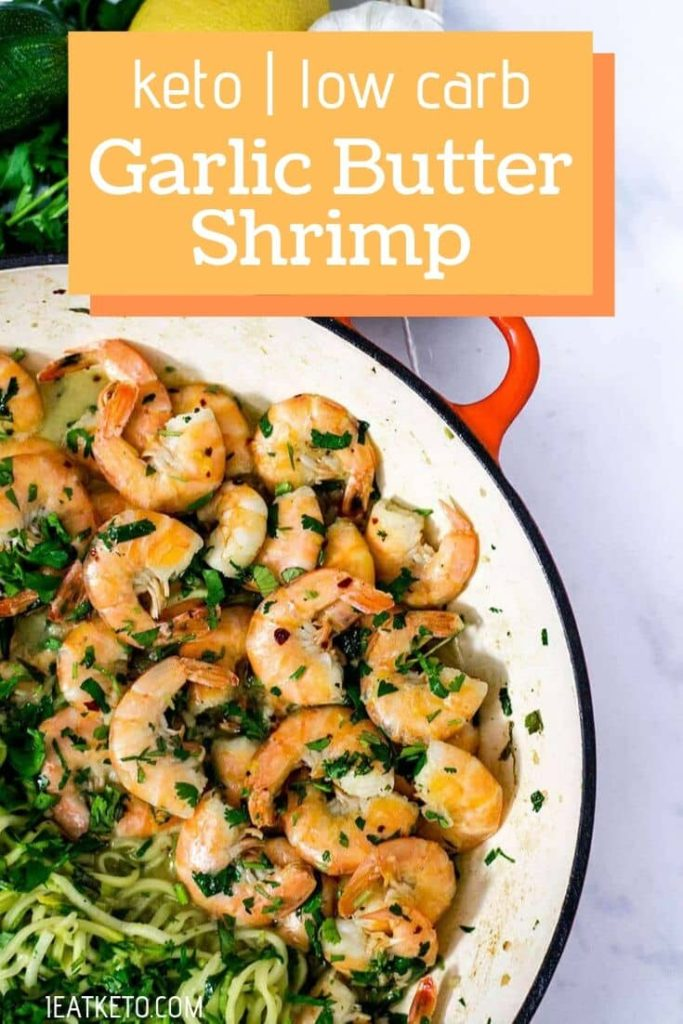 Clean Eating Meals - Keto Garlic Butter Shrimp
