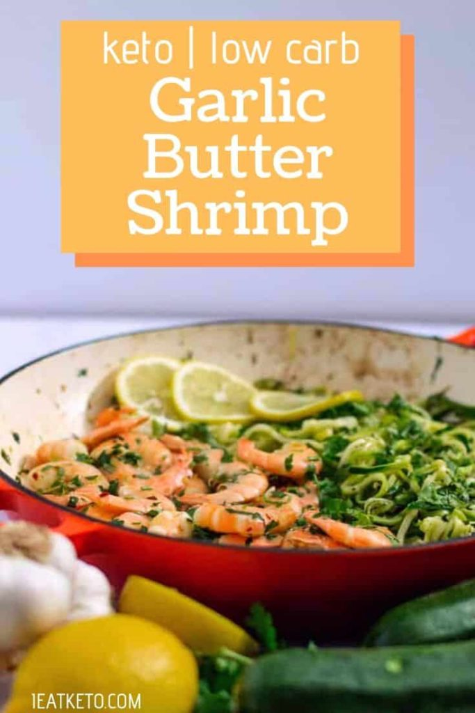 Quick keto meals - Keto Garlic Butter Shrimp