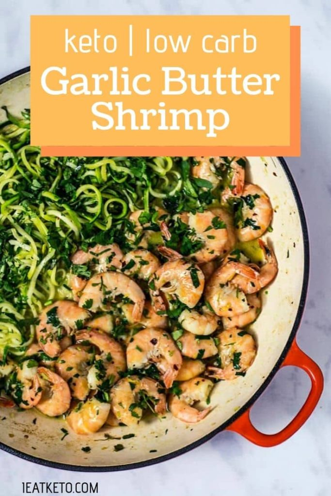 Easy Keto Meals - Keto Garlic Butter Shrimp