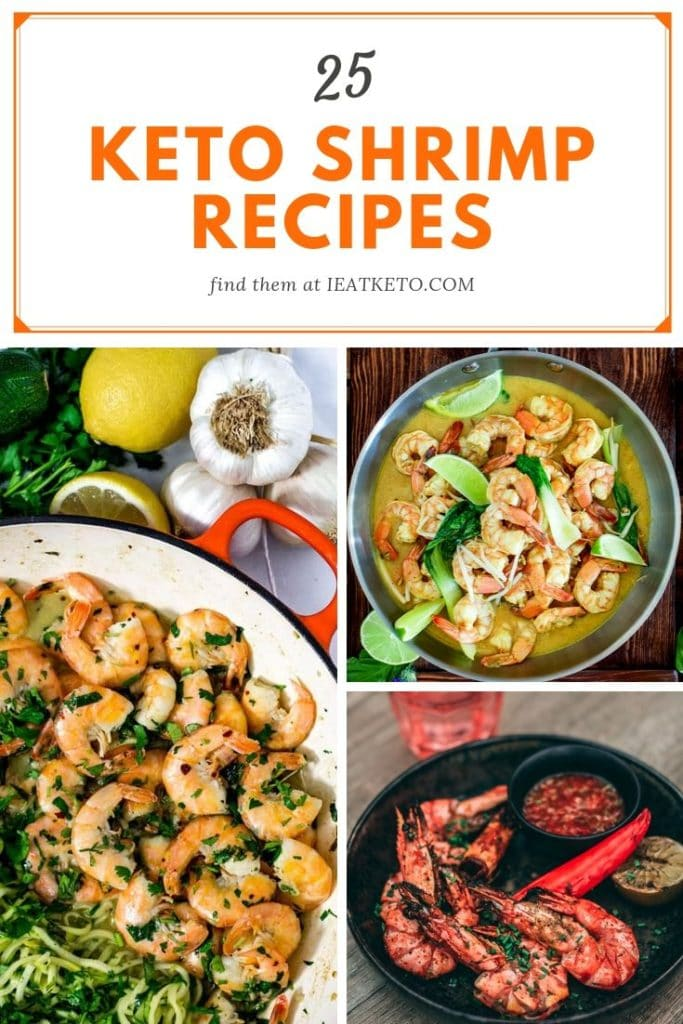 simple keto shrimp recipes - low carb easy to cook keto shrimp meal ideas