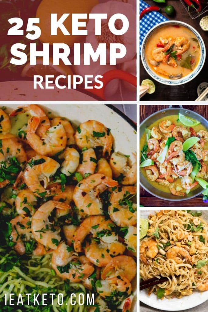 25 quick and easy low carb, keto shrimp recipes