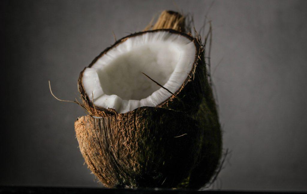 keto high fibre foods - coconut