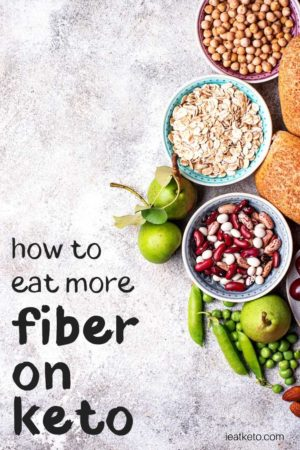 high fibre keto foods