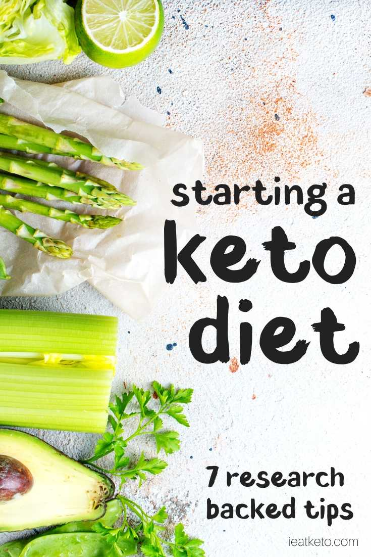 how to start the keto diet - tips