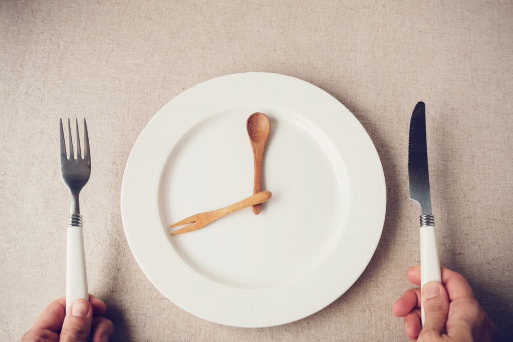 intermittent fasting - timing for eating