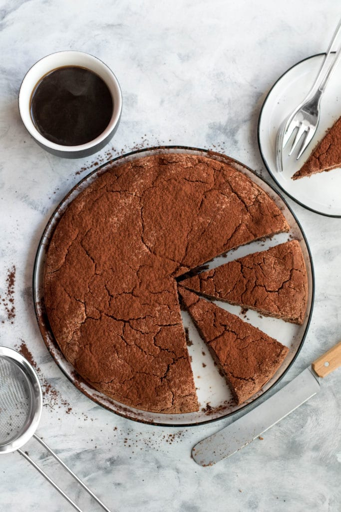 Easy keto chocolate cake