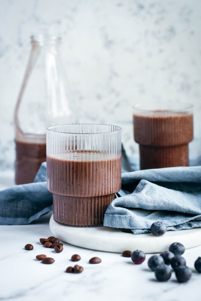 Keto coffee mocha smoothie