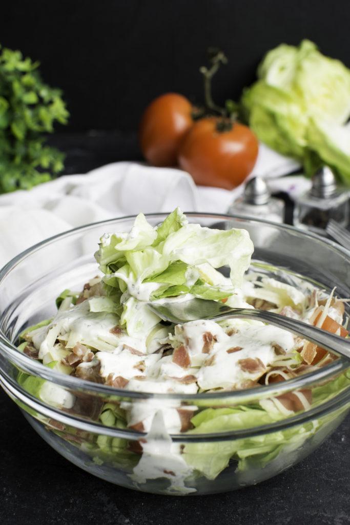blt keto salad