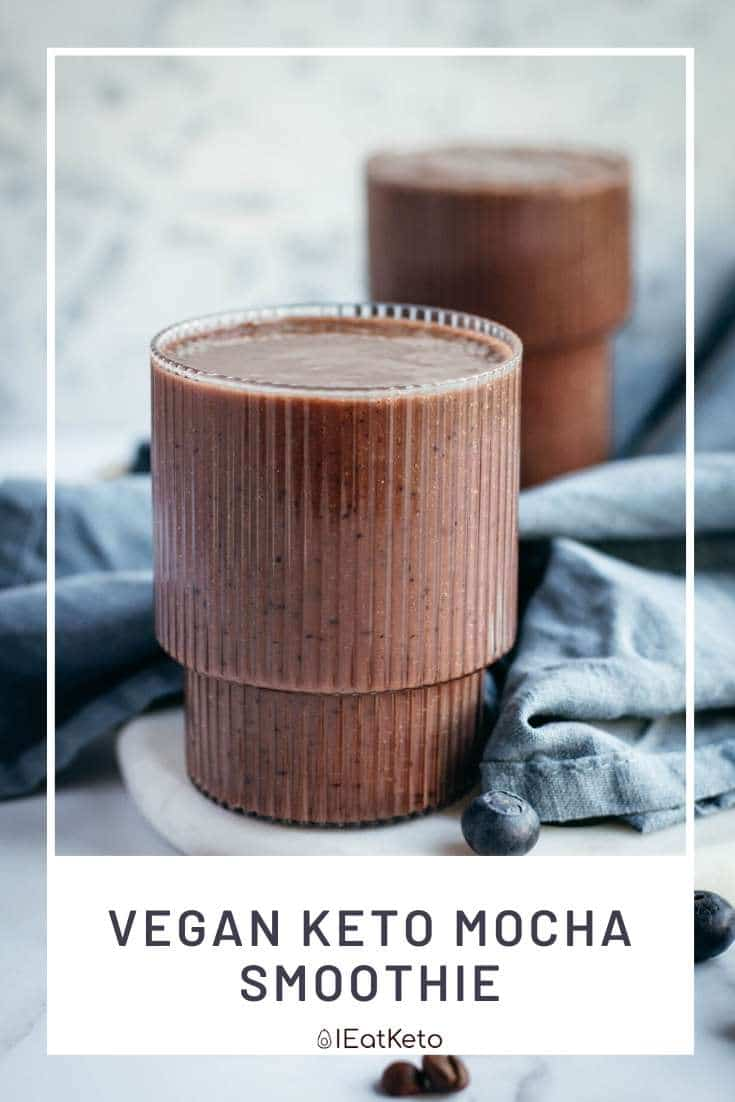 vegan keto mocha smoothie