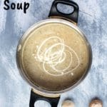 Easy keto mushroom soup
