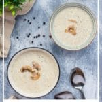 mushroom low carb soup