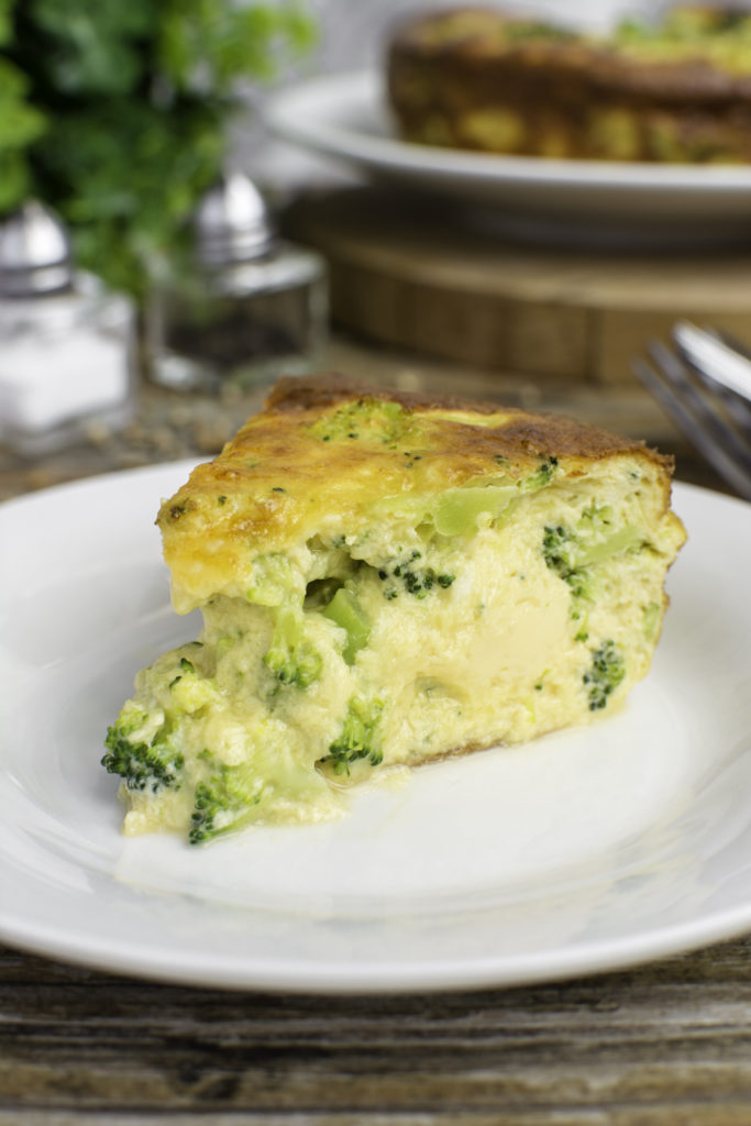 broccoli keto quiche