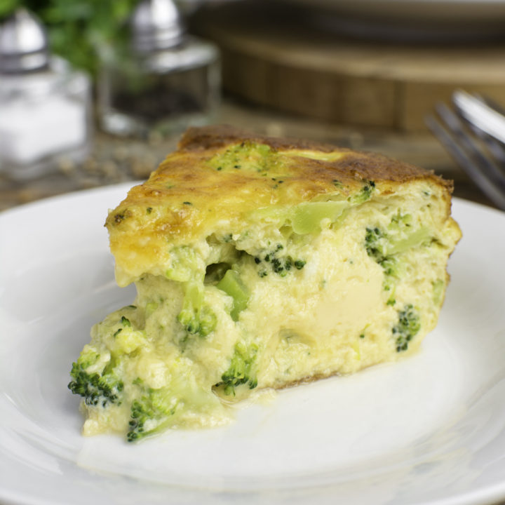 broccoli keto quiche