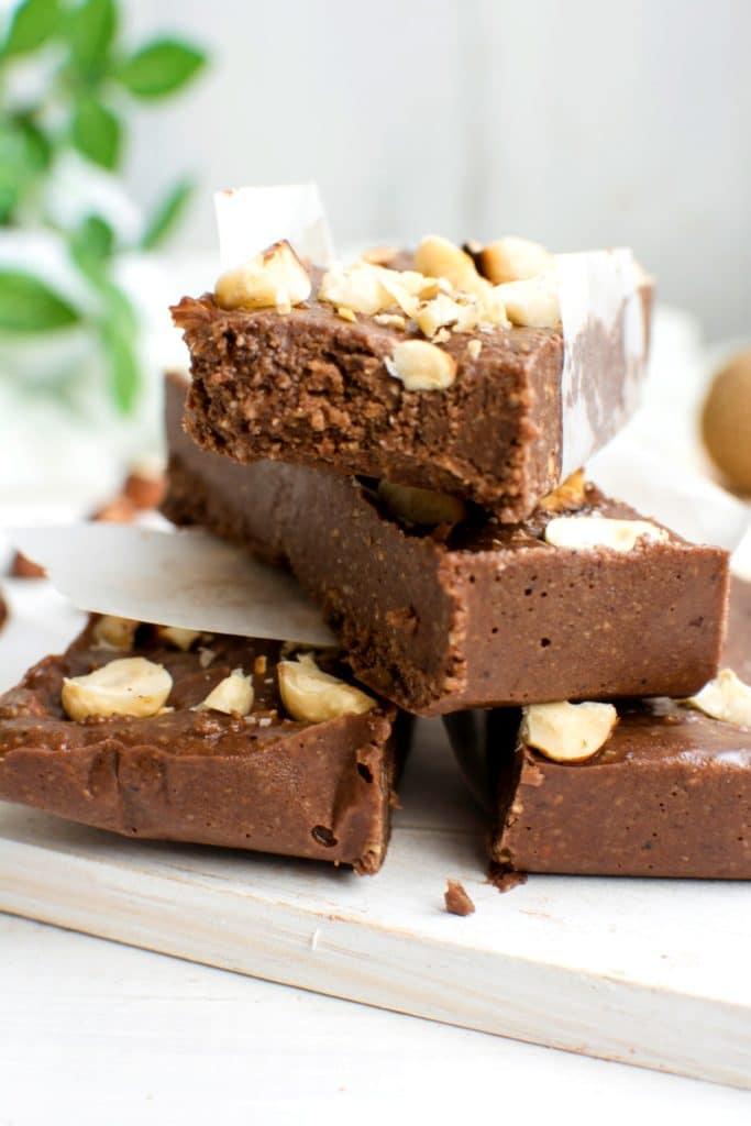 Low carb keto snack recipe - keto brownie bars