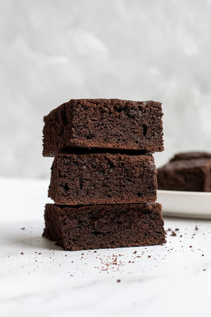 Keto gluten-free chocolate brownies