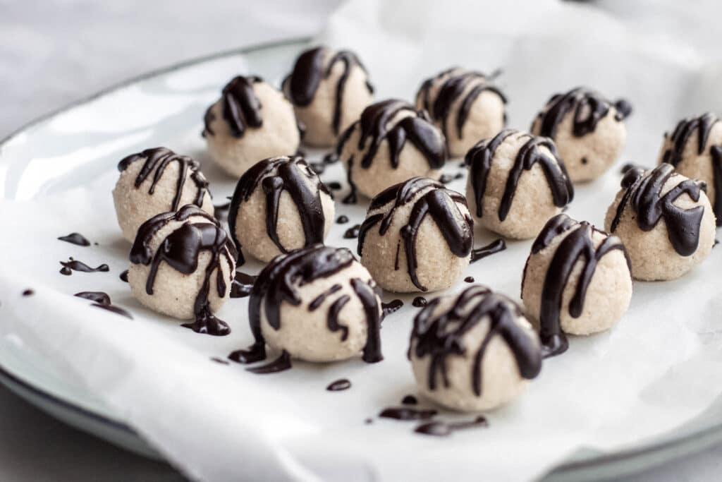 Keto coconut truffles